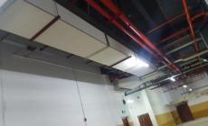防排烟风管的防火板包裹新技术