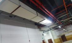 防排烟风管采用成品钢质防排烟风管,内外贴面均为无缝一体框咬接,芯材为陶瓷纤维