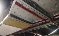 金属风管耐火包覆系统是在原金属风管外表面填充50mm岩棉