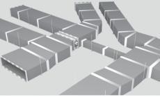 防腐消音排烟风管是指以双面压花涂层钢板复合新型微孔材料为板材