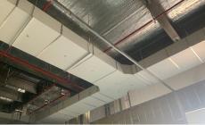 防排烟风管的安装过程