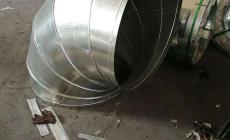 包人工中央空调风管白铁皮的大概要多少钱一平方