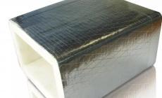 回风管和新风采用无甲醛环保消音风管